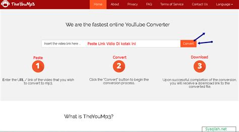 cara download mp3 youtube gratis syaqilah net cara download mp3 dari vidio youtube gratis