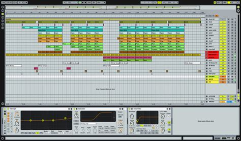 Underground Rush Techno Ableton Live Template Project Abletunes Ableton House Template