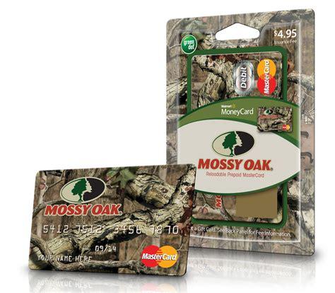Transfer Gift Card To Debit Card - mossy oak announces new prepaid debit card