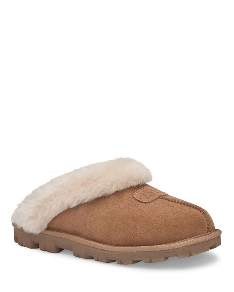 uggs coquette slippers ugg coquette slippers in brown lyst