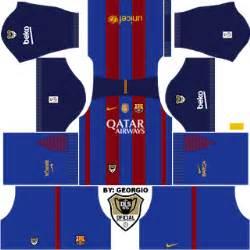 Kit amp logo fc barcelona dream league soccer 2016 super android