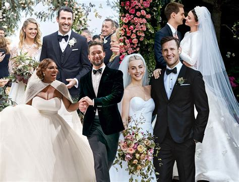 This Year's Best Celebrity Weddings   eniGma Magazine