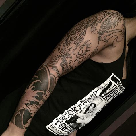 dragon scale tattoo 75 unique designs meanings cool