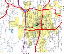 dalton map dalton ga zip code map zip code map