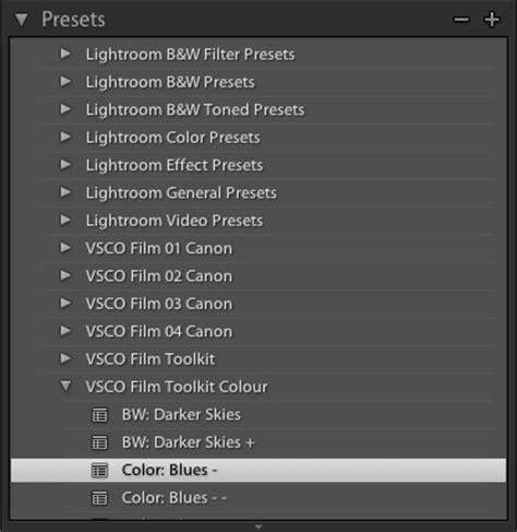 tutorial vsco lightroom vsco film simulation tutorial photophique