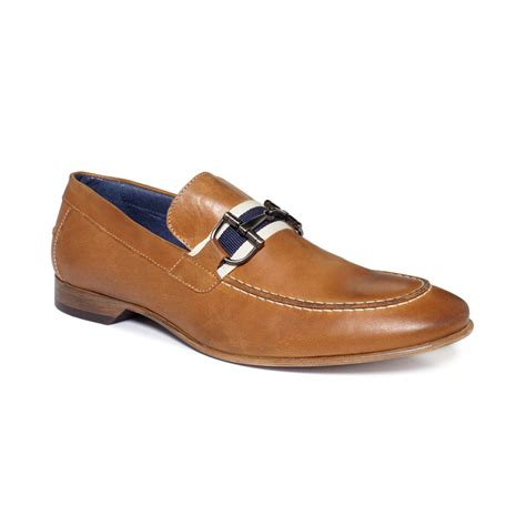 kenneth cole mens loafers kenneth cole reaction roof top bit loafers in brown for