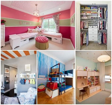 8 Clever Shared Kids Room Storage Ideas Kid Room Storage Ideas