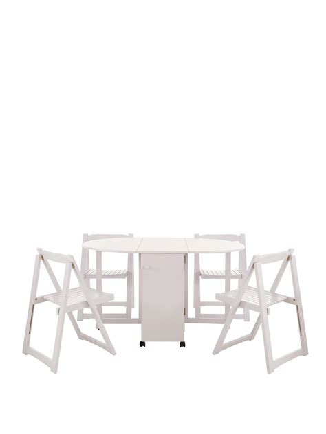 white butterfly folding table and chairs fold away dining table price comparison results