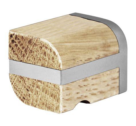 pomelli legno two pomello per mobili in acciaio inox e legno by