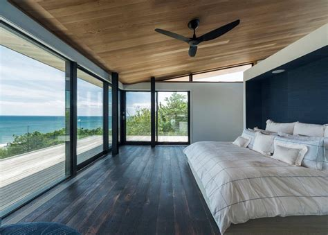 Modern Master Bedroom Floor Plans by Panoramic Windows Design And Using In Modern Homes Idea