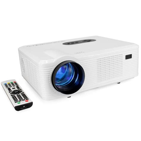Led Projector cl720 led projector 3000 lumens 1280 800 pixels with analog tv interface projector for home
