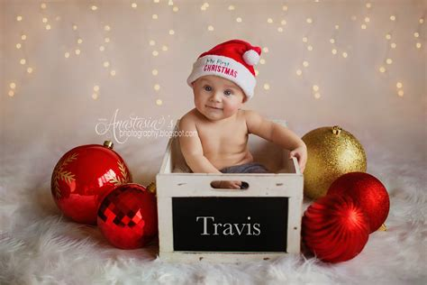 6 month christmas photos s photography rochester ny photographer newborn baby child family senior wedding