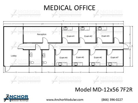 medical office floor plan sles custom modular building floor plans