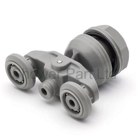 Part Ref E6 83ts Xtwy 2 X Twin Shower Door Roller Shower Door Runners