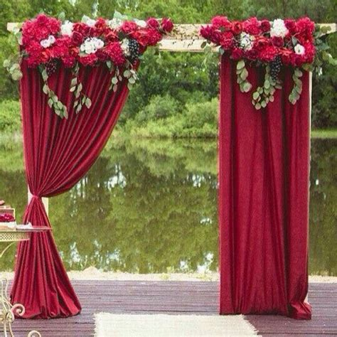 40 Outdoor Fall Wedding Arch and Altar Ideas ? Hi Miss Puff