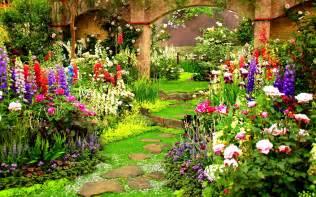 spring flower garden spring flower gardens wallpaper wallpapersafari