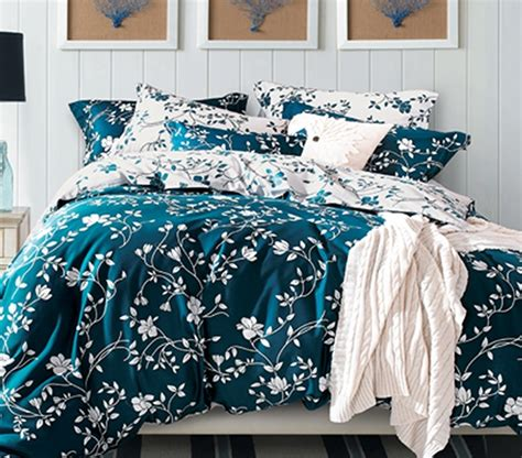 Moxie Vines Teal And White Twin Xl Comforter Twin Xl White Xl Bedding