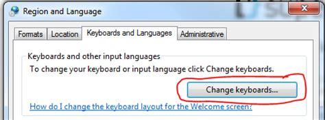 keyboard layout shortcut windows 7 طريقة تغيير لغة الادخال في شاشة الترحيب لـ ويندوز 7 عالم