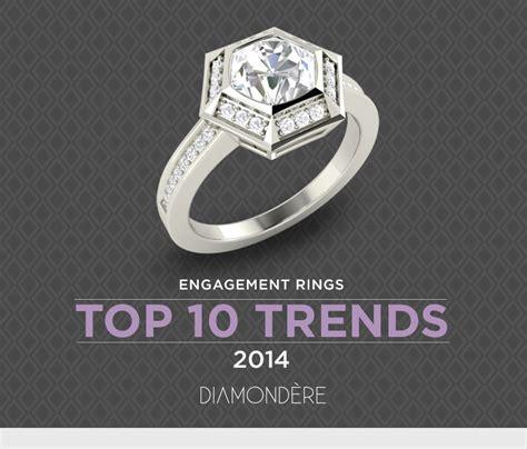 engagement rings top 10 trends of 2014 diamondere blog