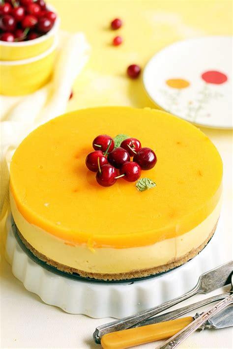 Mango Cheesecake eggless mango cheesecake recipe no bake mango cheesecake recipe