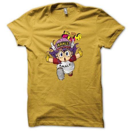 Tshirt Arale Dr Slump shirt arale dr slump dr suranpu parodique jaune
