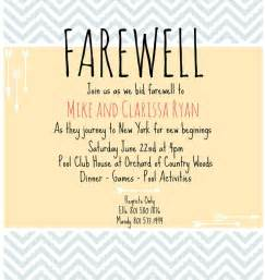 farewell invite picmonkey creations