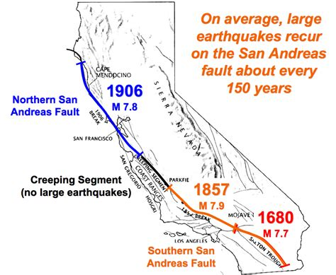 san andreas fault line map skepticblog 187 pilgrimage to pallett creek