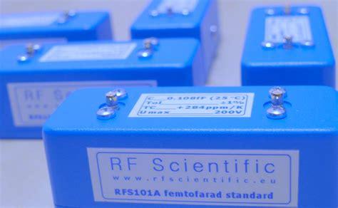 femto farad capacitor femtofarad standard capacitor type rfs 101a