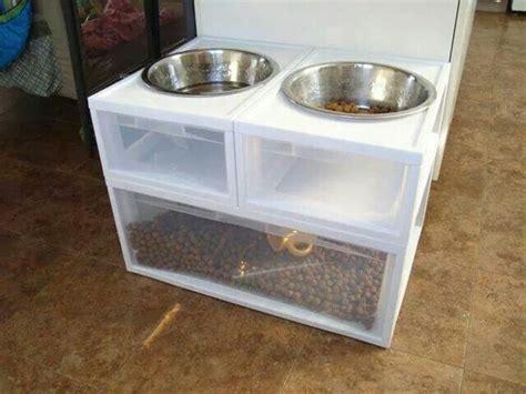 remodelaholic diy dog food bowl stand for small pups diy dog bowl stand for the pups pinterest dog bowl
