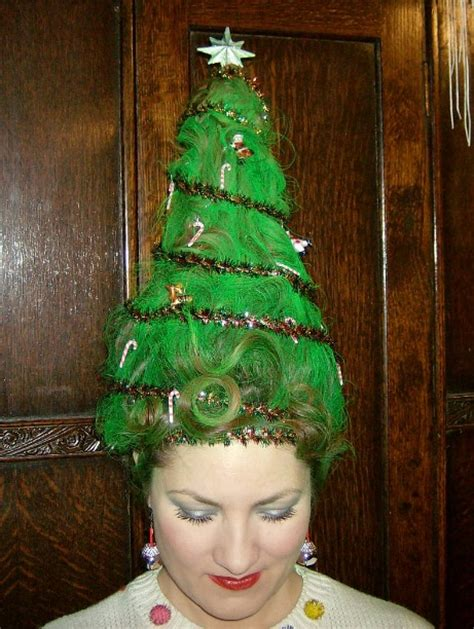 christmas tree hair do 28 sweater ideas c r a f t