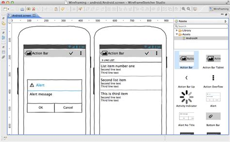 app design mockup tools create android wireframes mockups and prototypes