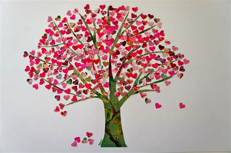 tree hearts ideas from the forest tree of hearts edition