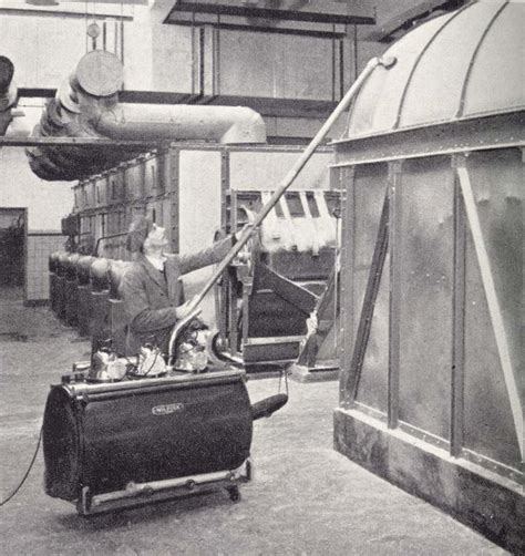 the o jays construction and gadgets on pinterest the first industrial machine from 1940 vintage