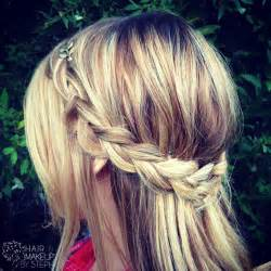 hair and make up by steph how to wrap around braid