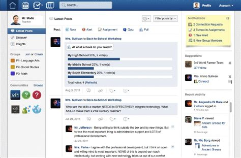 edmodo research gigaom with nearly 10m members edmodo goes back to