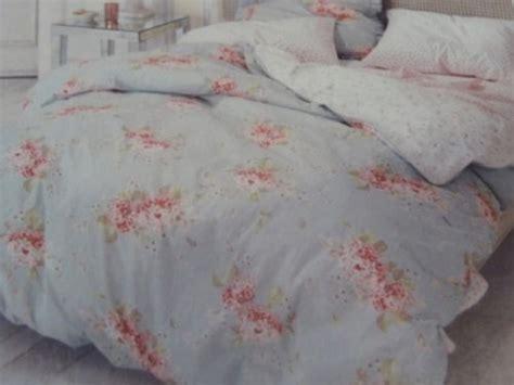 sale simply shabby chic hydrangea duvet cover set blue