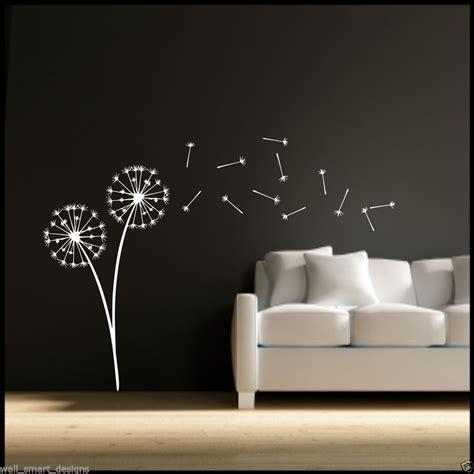 wall stencil stickers dandelion clock seeds wall decal sticker transfer stencil