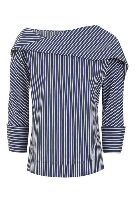 Twis Stripe twist stripe top by boutique topshop usa