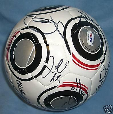 Ac Milan Signature 1 ronaldinho 2009 ac milan team signed soccer psa dna