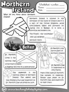 northern ireland worksheets and ireland on pinterest