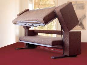 Bunk Bed Sofa Bed Innovative Multifunctional Sofa By Designer Giulio Manzoni Transforms Into A Bunk Bed In Only 12