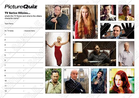 film and tv quiz rounds quiz number 036 with a tv series villains picture round