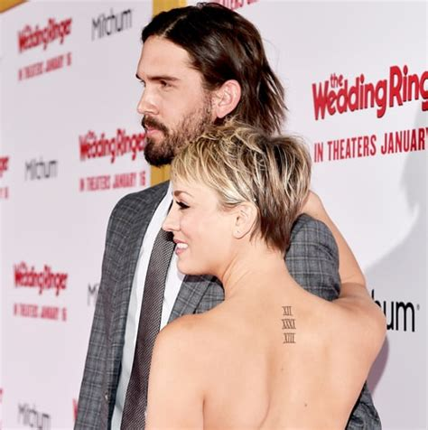 kaley cuoco tattoos kaley cuoco covers wedding date with a moth