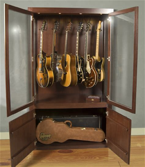 Guitar Storage Cabinet Guitar Storage On Pinterest Guitar Display Guitar Room And Home Studios