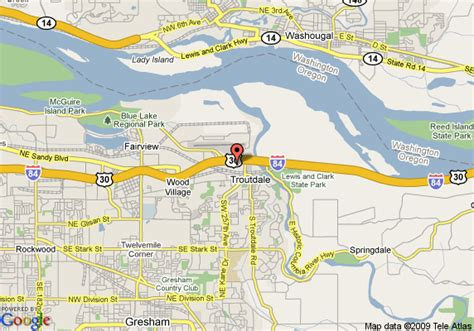 comfort directions map of comfort inn suites troutdale