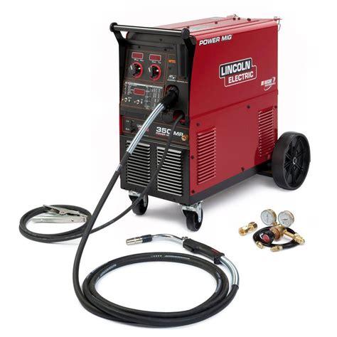 lincoln 350 welder power mig 350 mp welder k2403 2 the home depot