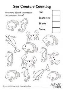 counting fish coloring page search