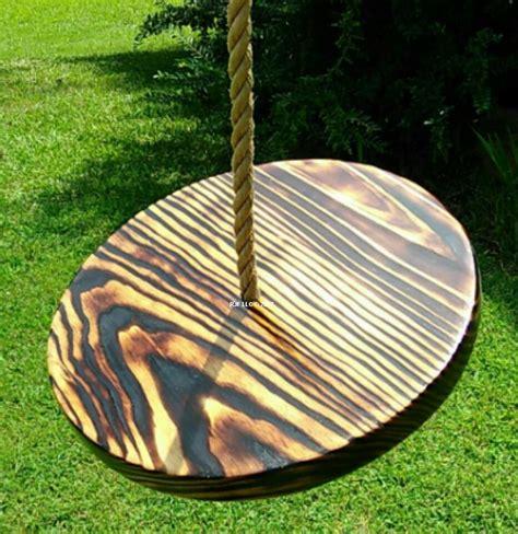 disc swing for tree charred appalachian disc tree swing