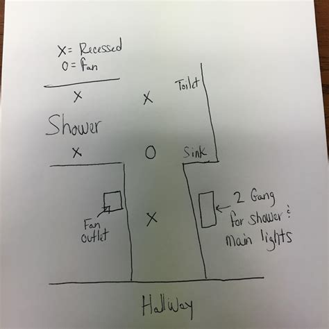 how to separate light and fan switches electrical how do i wire switches for my