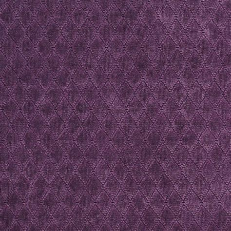 Velvet Upholstery Fabric by A918 Purple Stitched Velvet Upholstery Fabric